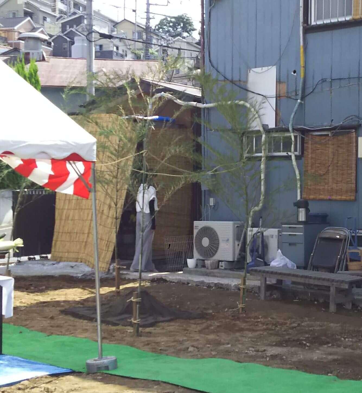地鎮祭 竹