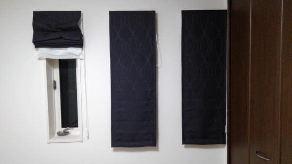 シェードカーテン 窓